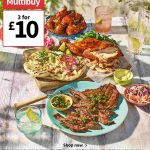 ASDA Tastes of BBQ 3 for £10 Meat & Fish