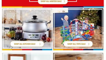 ALDI Online Winter Sale 2021