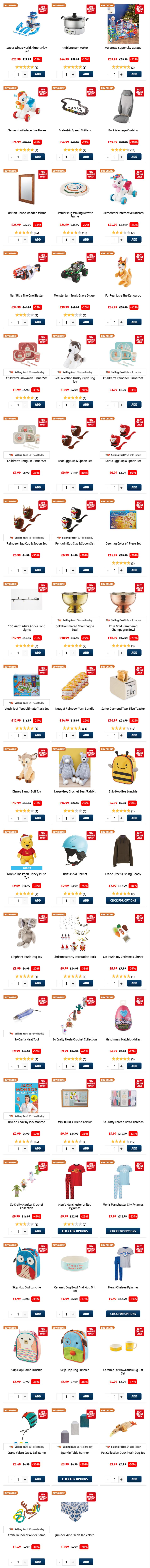ALDI Online Winter Sale 2020