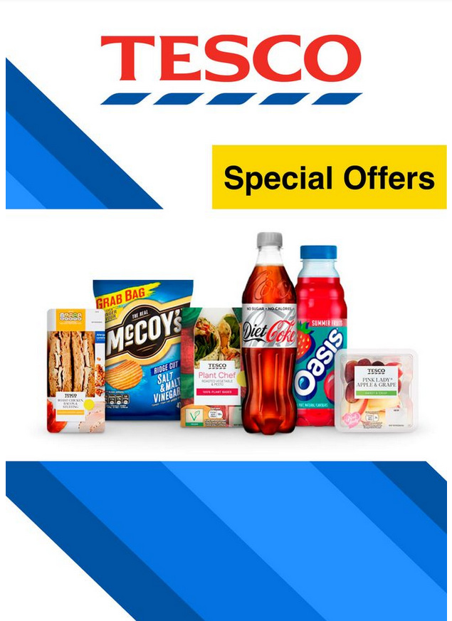 Tesco Special Offers 24th August – 23rd September 2020