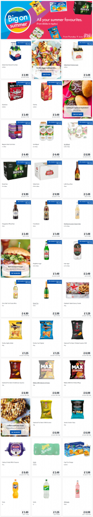 Lidl Summer Favorite Offers from Thursday 4th June 2020