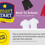LIDL Back to School Offers From Thursday 19th August 2021