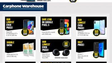 Carphone Warehouse Black Friday Deals