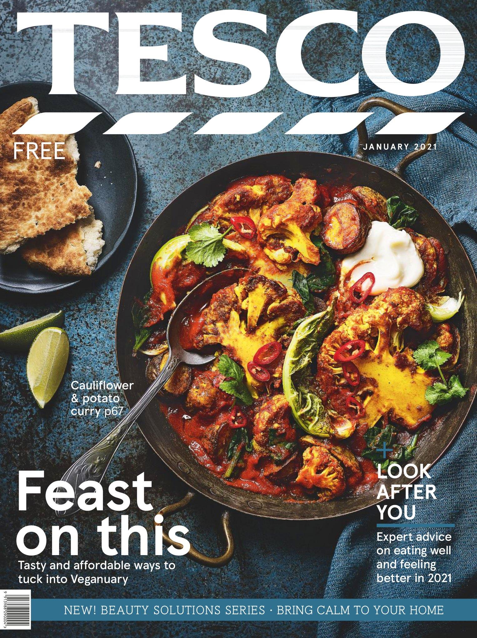 Tesco Magazine January 2021