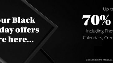 Photobox Black Friday Deals 2020