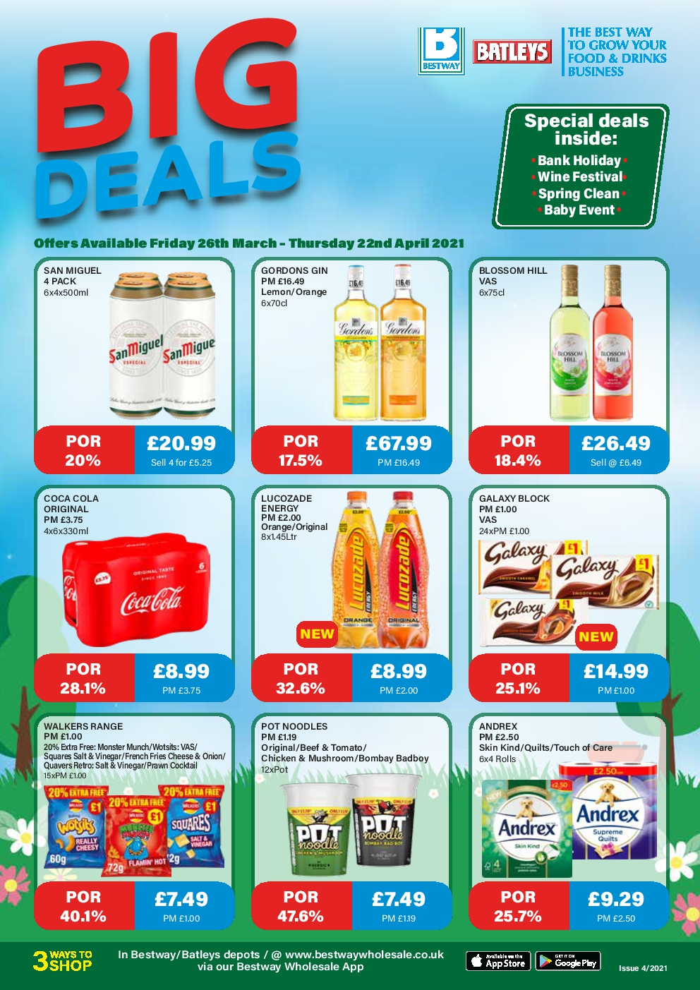 Batleys Offers 26th Mar – 22nd Apr 2021 Monthly Deals Brochure Preview