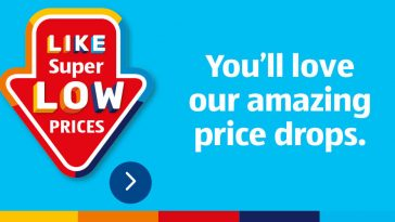 ALDI Price Drops from 6th January 2021