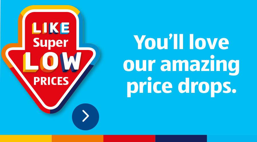 ALDI Price Drops from 21st December 2020