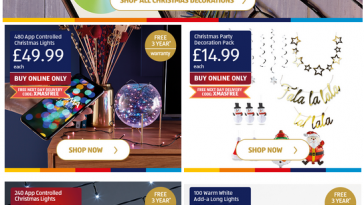 ALDI Specialbuys Lights & Decorations for Christmas