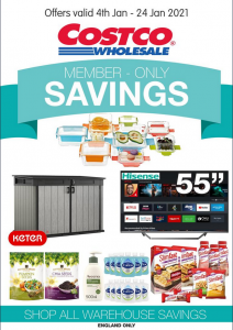 Costco Offers 4th January to 24th January 2021