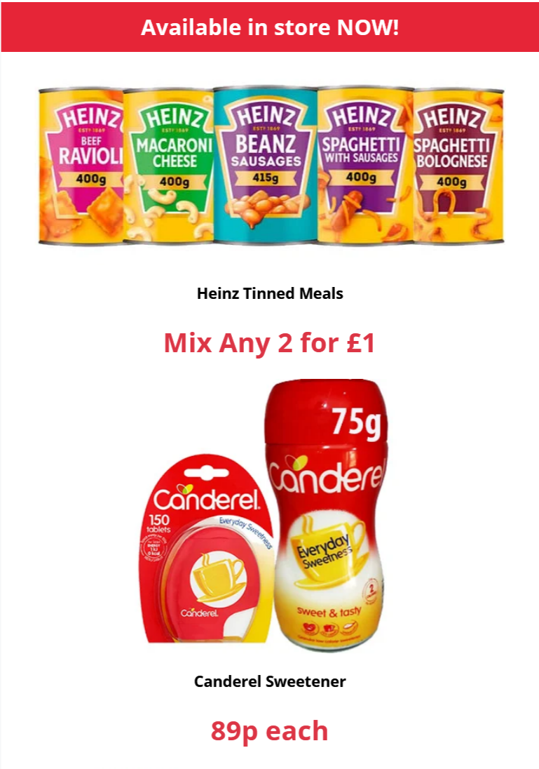 Farmfoods Offers Valid until at least 18th January 2021