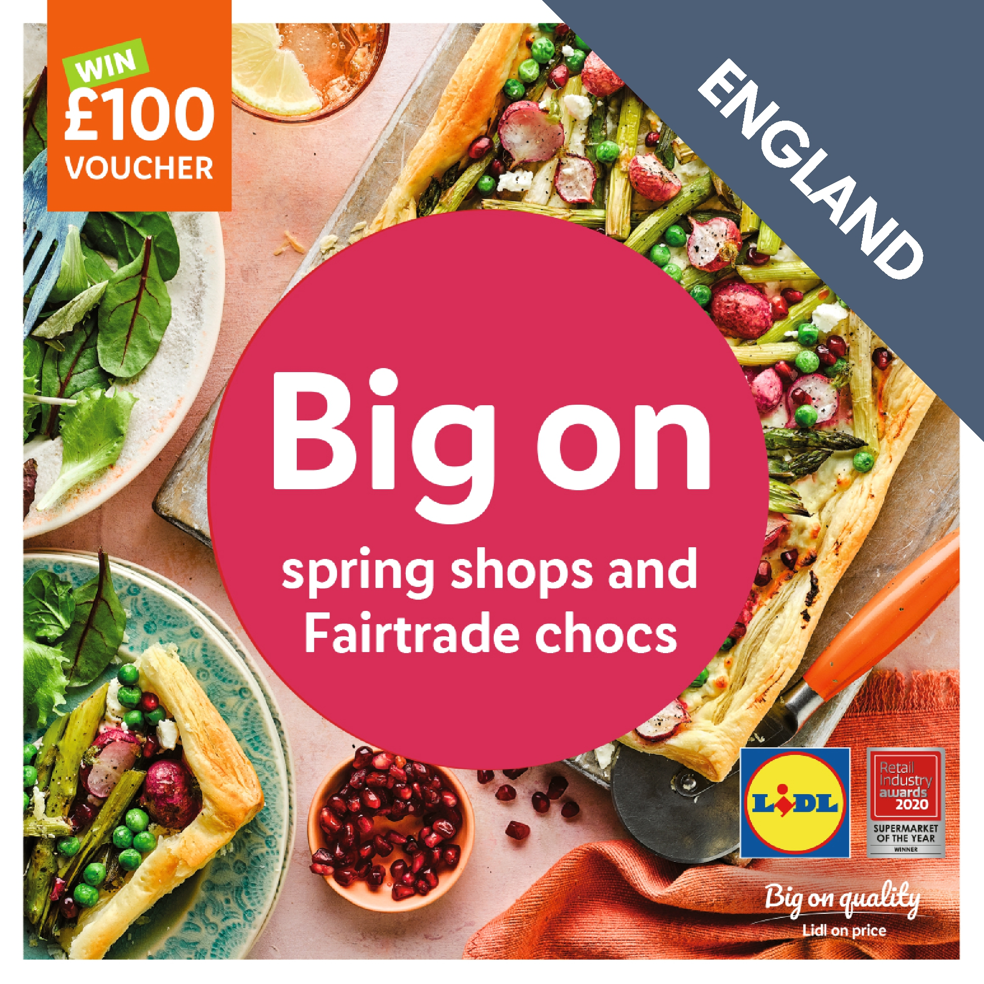 LIDL Spring Magazine March 2021