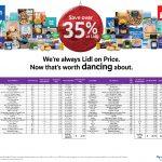 Lidl Tesco Trolley Comparison Press! Save over 35% At LIDL