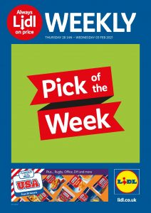 Lidl Weekly Offers 28th January - 3rd February 2021