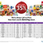 Lidl Morrisons Trolley Comparison Press! Save over 35% At LIDL