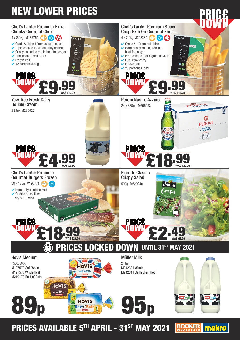Makro Offers from 5th April - 31st May 2021