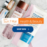 Aldi Special Buys Sunday, 7th March 2021 Health & Beauty