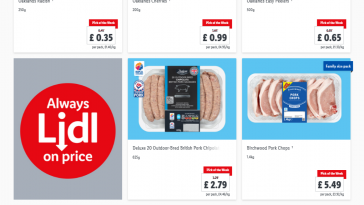 Lidl Pick Of The Week valid from 4/3/2021 – 10/3/2021