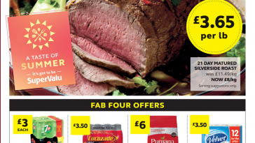 SuperValu Offers 3rd May - 22nd May 2021
