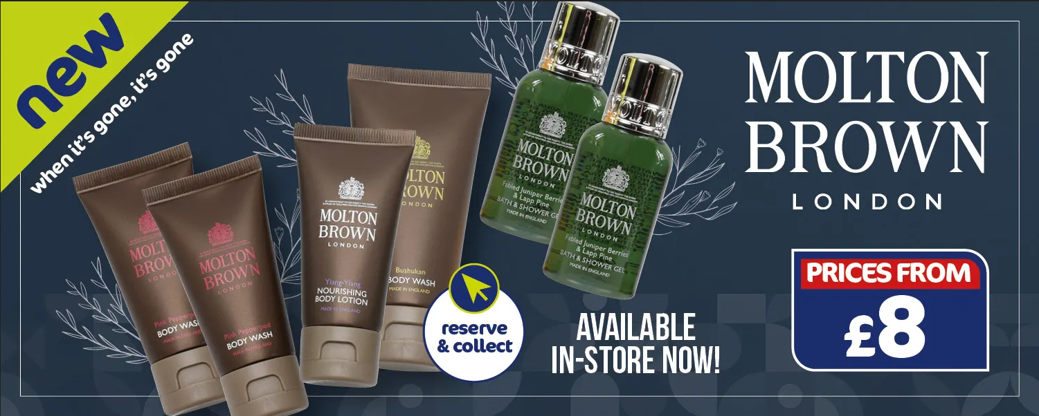 The Original Factory Shop Beauty Brand Molton Brown Offers from 31st March 2021
