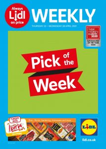 Lidl Weekly Offers 22nd April - 28th April 2021