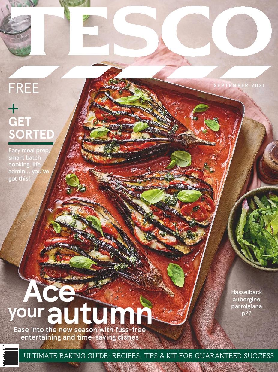 Tesco Magazine September 2021