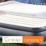 Aldi Special Buys Sunday, 18th April 2021 Camping