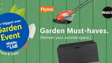LIDL Garden Tools Offers From Sunday, 6th June 2021