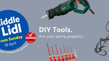 LIDL DIY Tools Offers From Monday, 18th April 2021