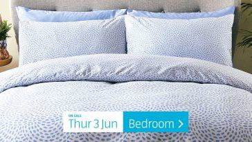 Aldi Special Buys Thursday, 3rd June 2021 Bedroom