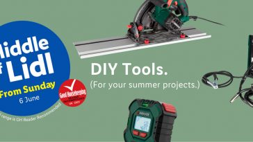 LIDL DIY Tools Offers From Thursday, 6th June 2021