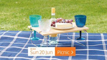 Aldi Special Buys Sunday, 20th June 2021 Picnic
