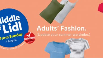 LIDL Summer Fashion From Sunday 1st August 2021