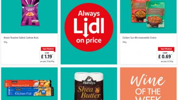 Lidl Super Weekend From 11th June - 13th June 2021 LIDL Weekend Offers