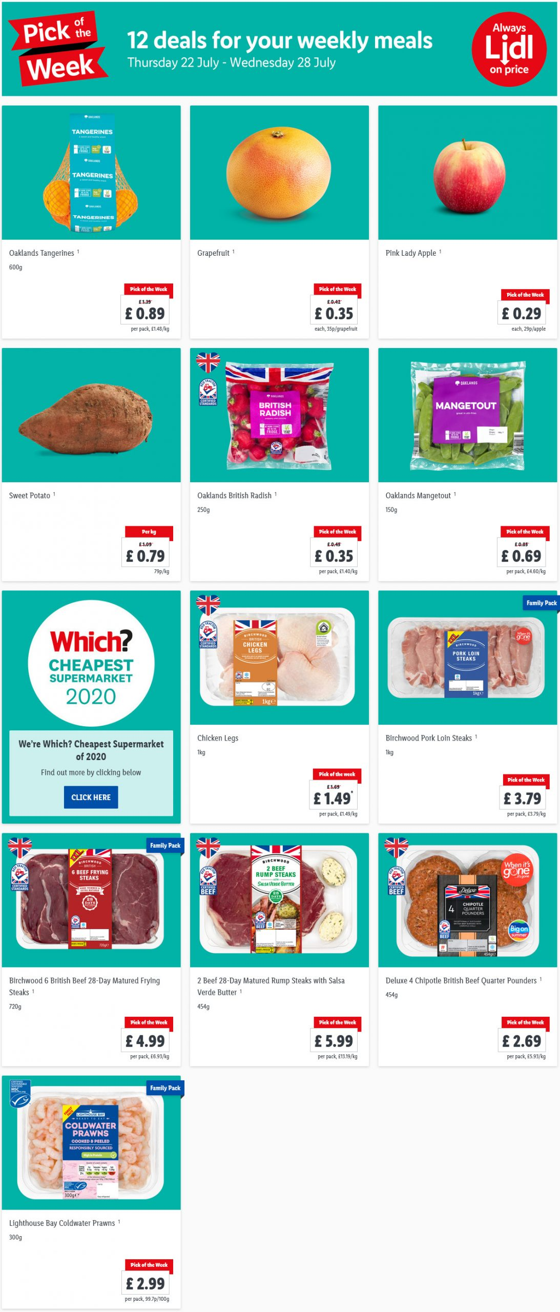 Preview Lidl Pick Of The Week valid from 22/7/2021 – 28/7/2021