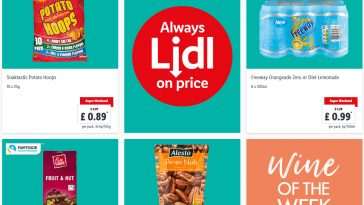 Lidl Super Weekend From 23rd July - 25th July 2021 LIDL Weekend Offers