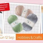 Aldi Special Buys Sunday, 12th September 2021 Hobbies & Crafts