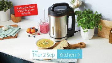 Aldi Special Buys Thursday, 2nd September 2021 Kitchen