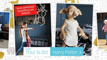 Aldi Special Buys Thursday, 14th October 2021 Harry Potter