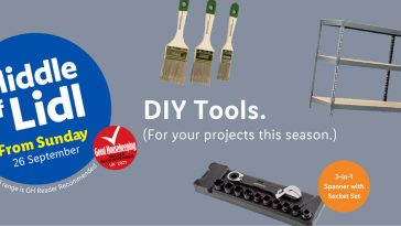 LIDL DIY Tools Offers From Thursday, 26th September 2021