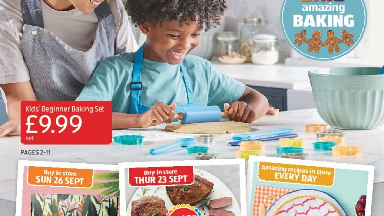 Aldi Leaflets Special Buys 19th September - 26th September 2021