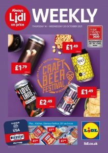 Lidl Offers 14/10/2021 - 20/10/2021