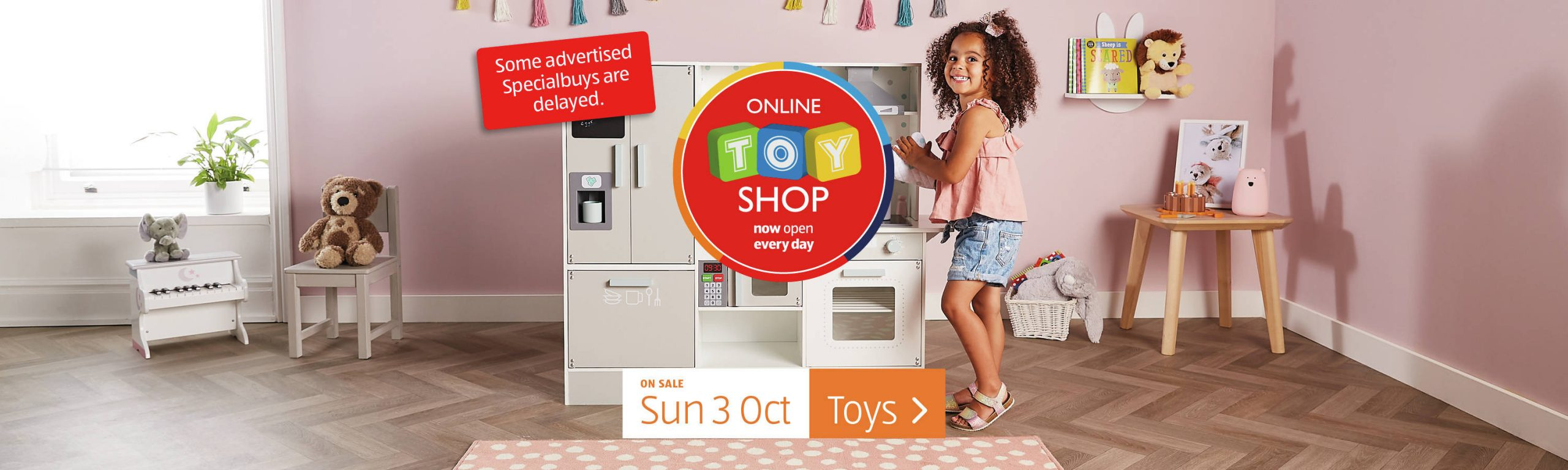 Aldi Special Buys Sunday, 26th September 2021 Toys