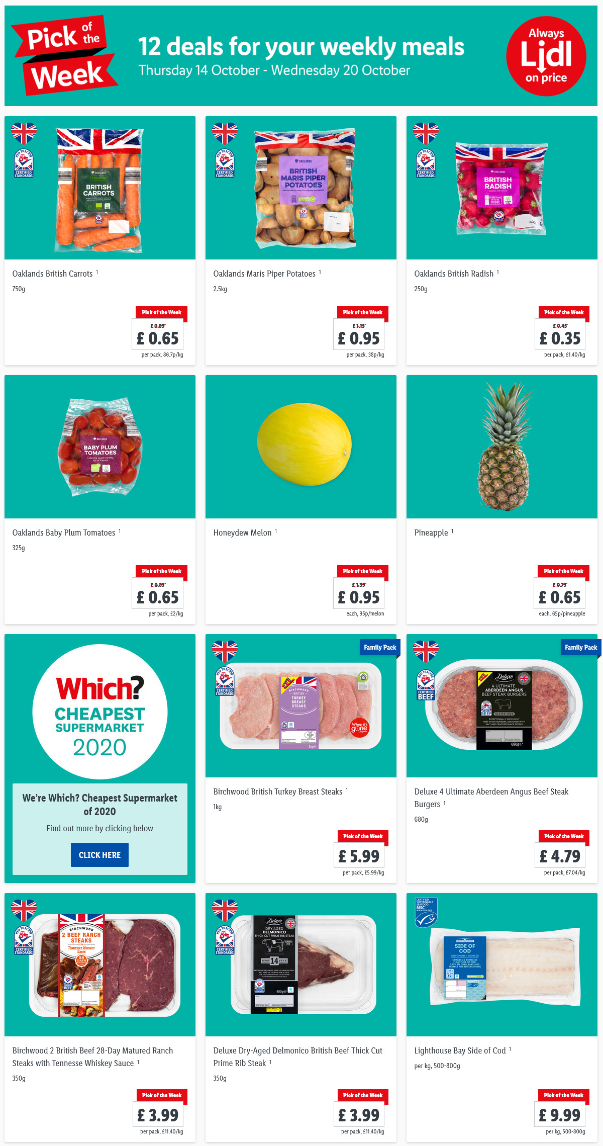 Preview Lidl Pick Of The Week valid from 7/10/2021 – 13/10/2021