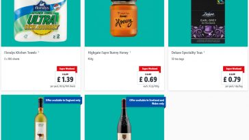 Lidl Super Weekend From 17th September – 19th September 2021 LIDL Weekend Offers