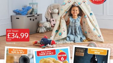 Aldi Leaflets Special Buys 17th October - 24th October 2021